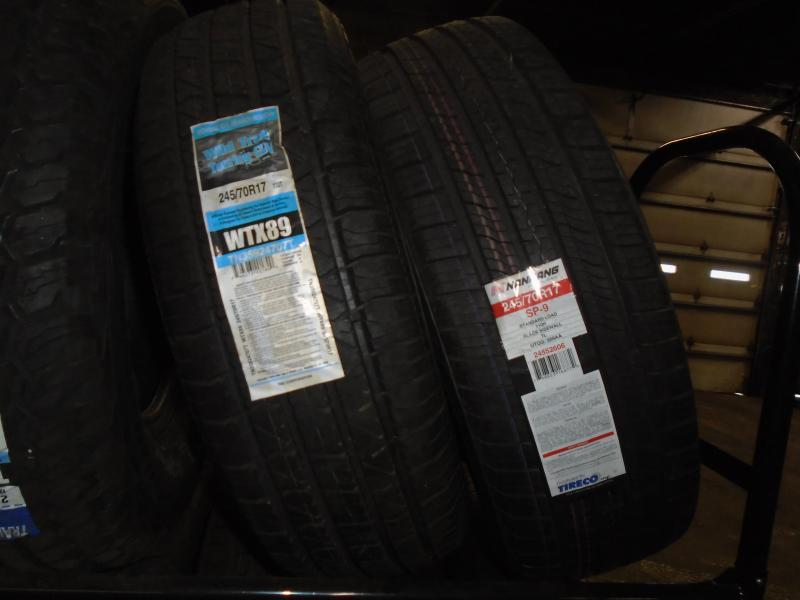 245/70/R17 Tires