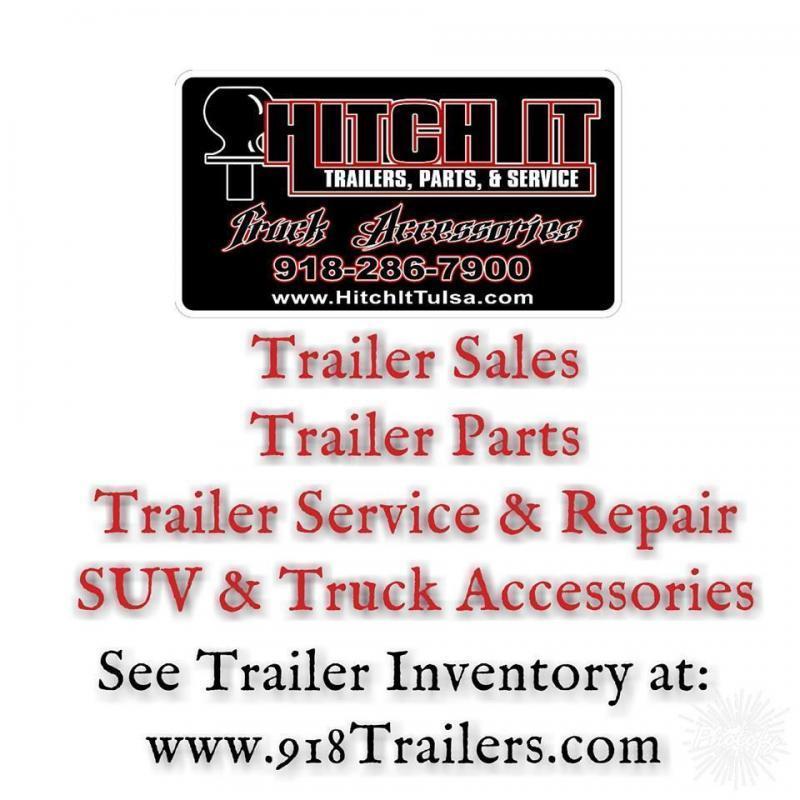 "6"" RAW STEEL RECEIVER TUBING (2"" RECEIVER) #49060 TULSA OK @ HITCH IT Trailers"