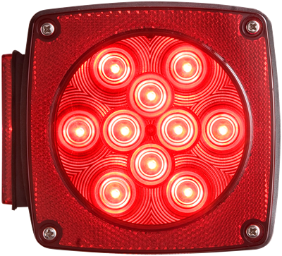 LED Combination tail light drivers side