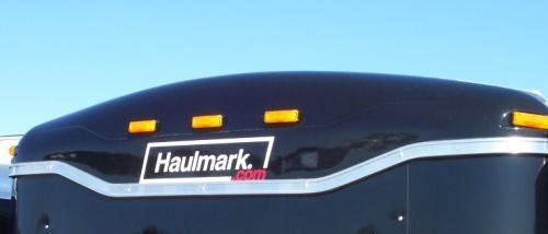 "72"" Haulmark Black Roof Cap"