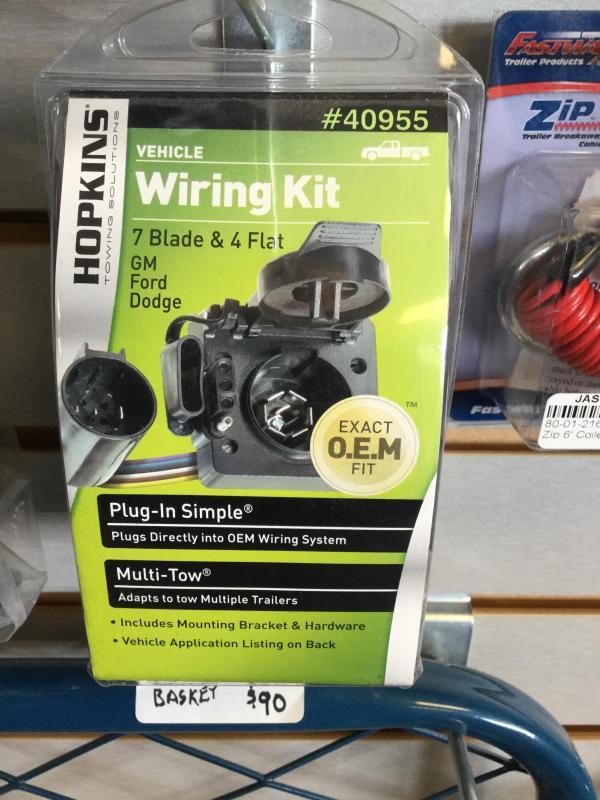 Wiring Kit for 7 way & 4 flat