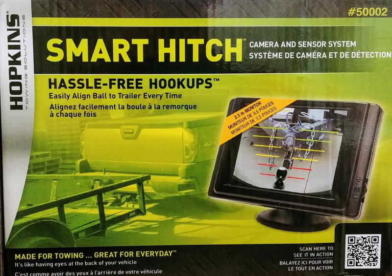 Smart Hitch Backup Camera and Sensor System