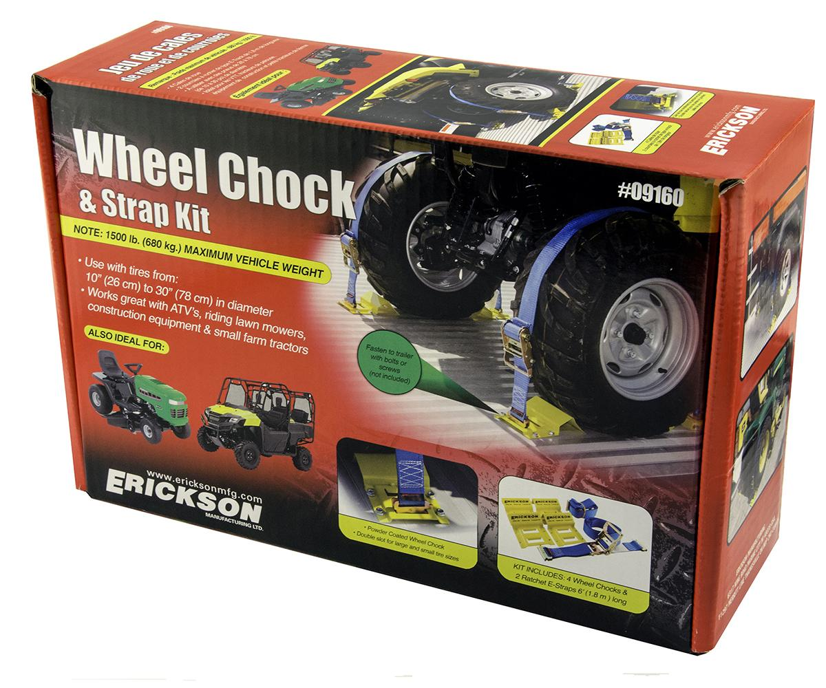 E Track - ATV Wheel Chock Tie Down Kit