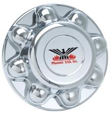 Wheel Chrome Covers 865 13/16 CHROME ABS PLASTIC 13/16 LUG TULSA OK @ HITCH IT TRAILERS