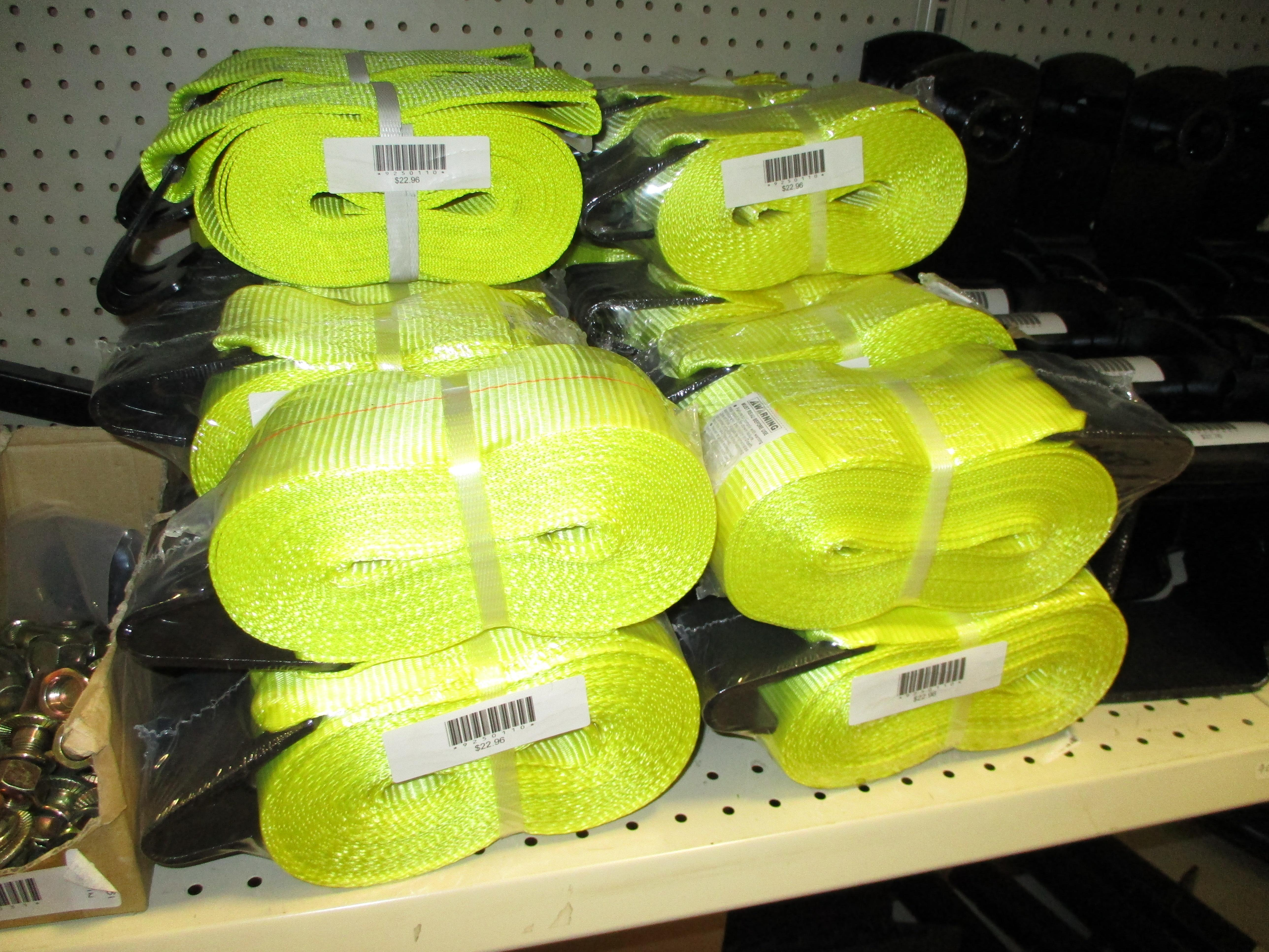 Straps for Winch