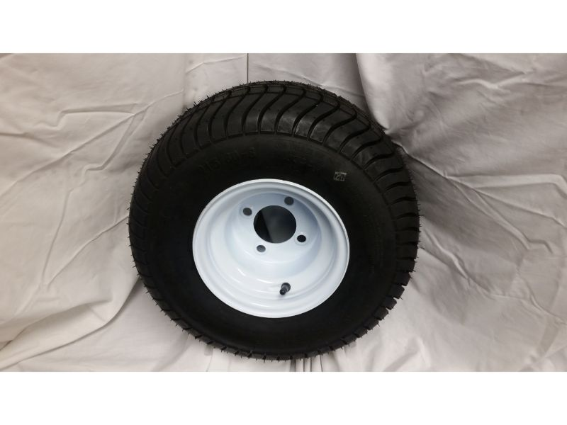 18.5X8.5X8 Trailer Wheel/Tire, 4 Lug