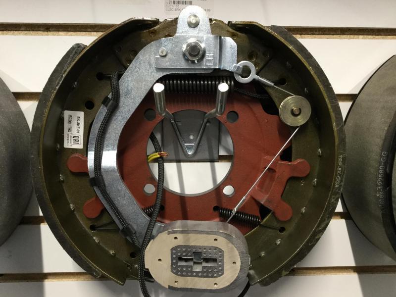 12-1/4x3-3/8 Left Brake Assembly