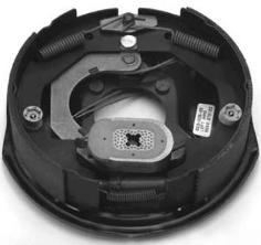 Electric Brake Assemblies BRK ELE 3.5K LH 10x2.25  ASSY