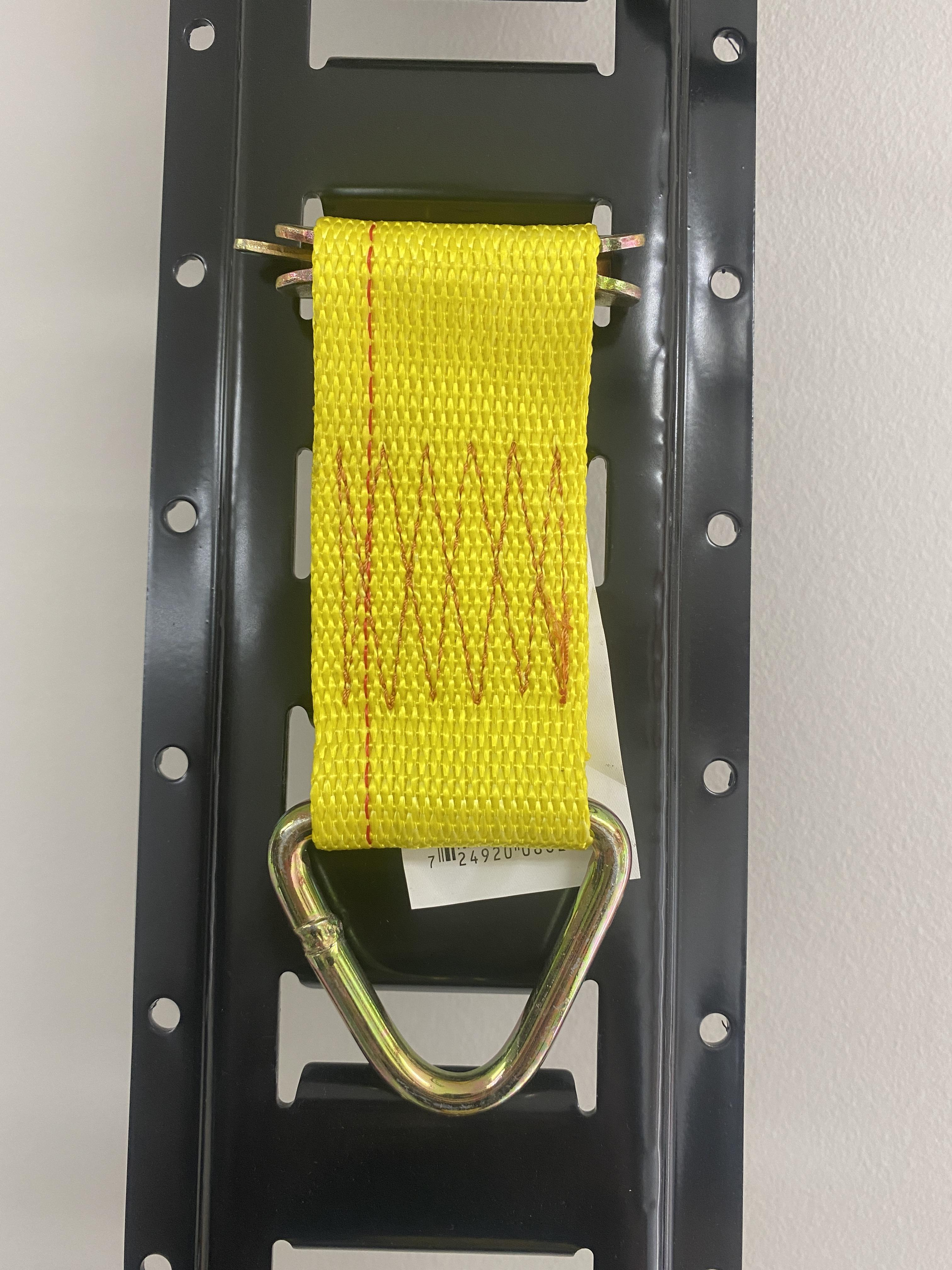 Rope Ring Tie Down with E-Track Fitting