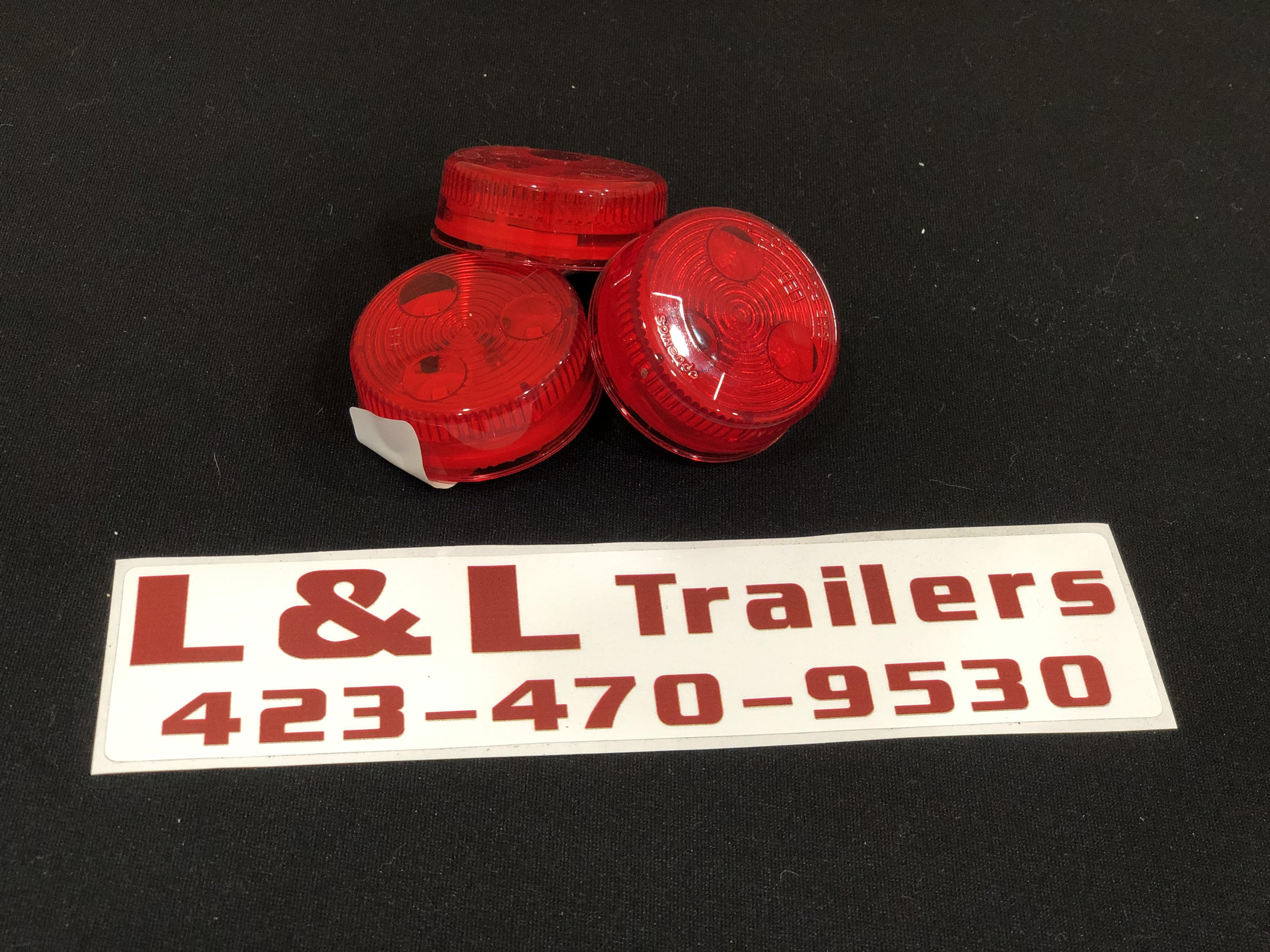 """2"""" Round Red LED"""