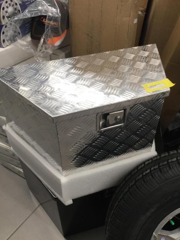 Aluminum A-Frame Toolbox