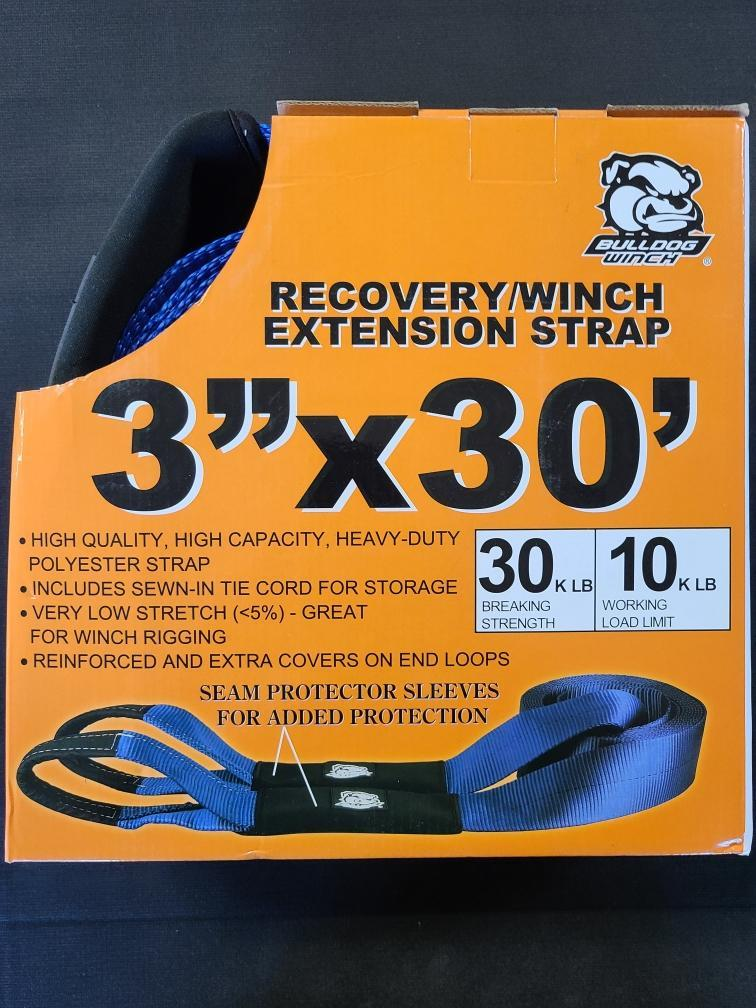 RECOVERY/WINCH EXTENSION STRAP