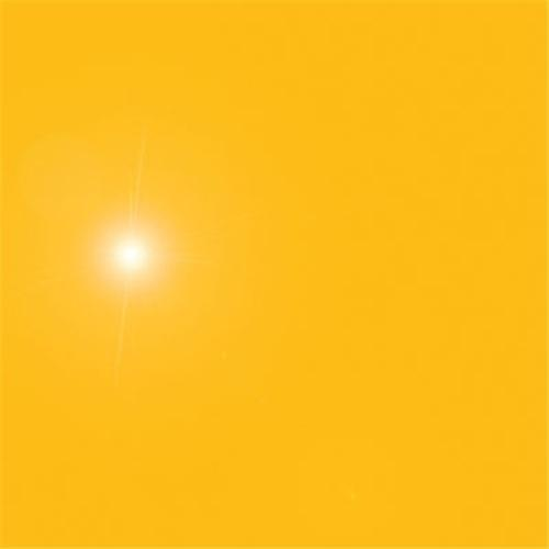 "Aluminum Sheet .030 x 49"" x 96"" Penske Yellow"