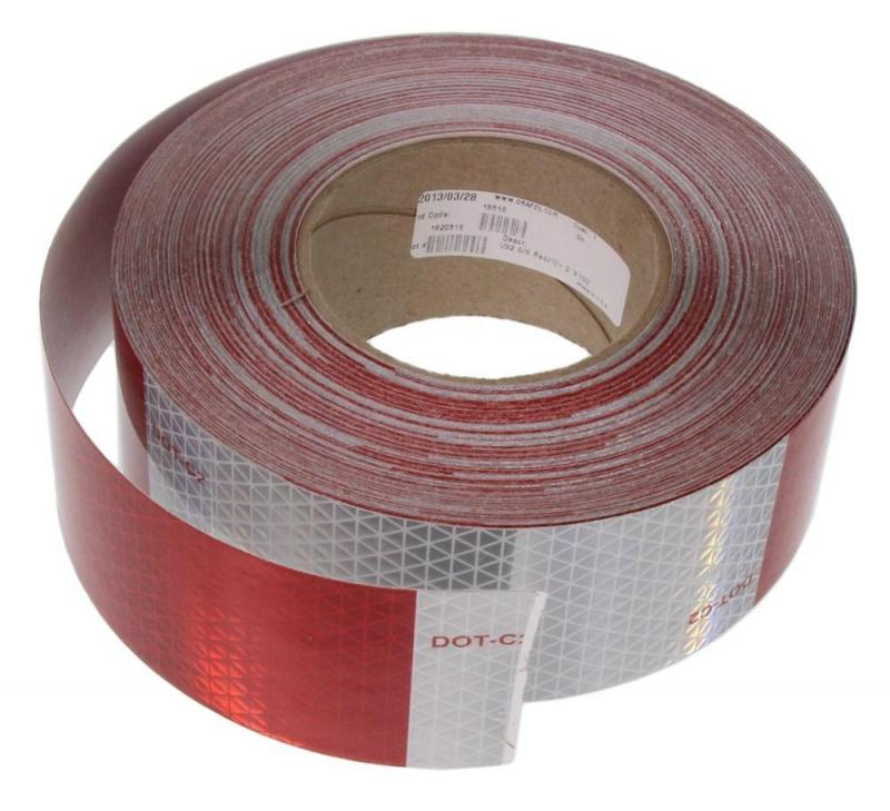 Red Conspicuity Reflective Tape