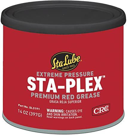 HI TEMP RED ALL PURPOSE WHEEL BEARING GREASE 14 OZ TUB