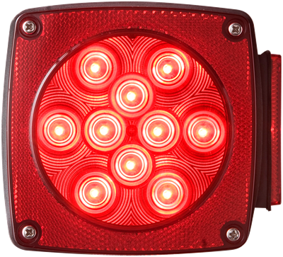 LED Combination tail light passenger side