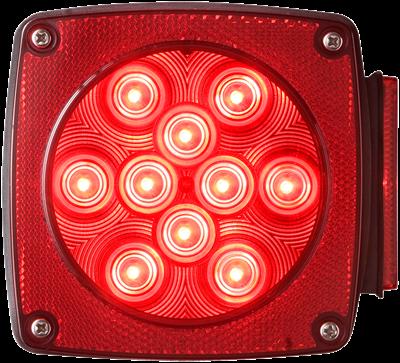 LED Combination tail light passenger side