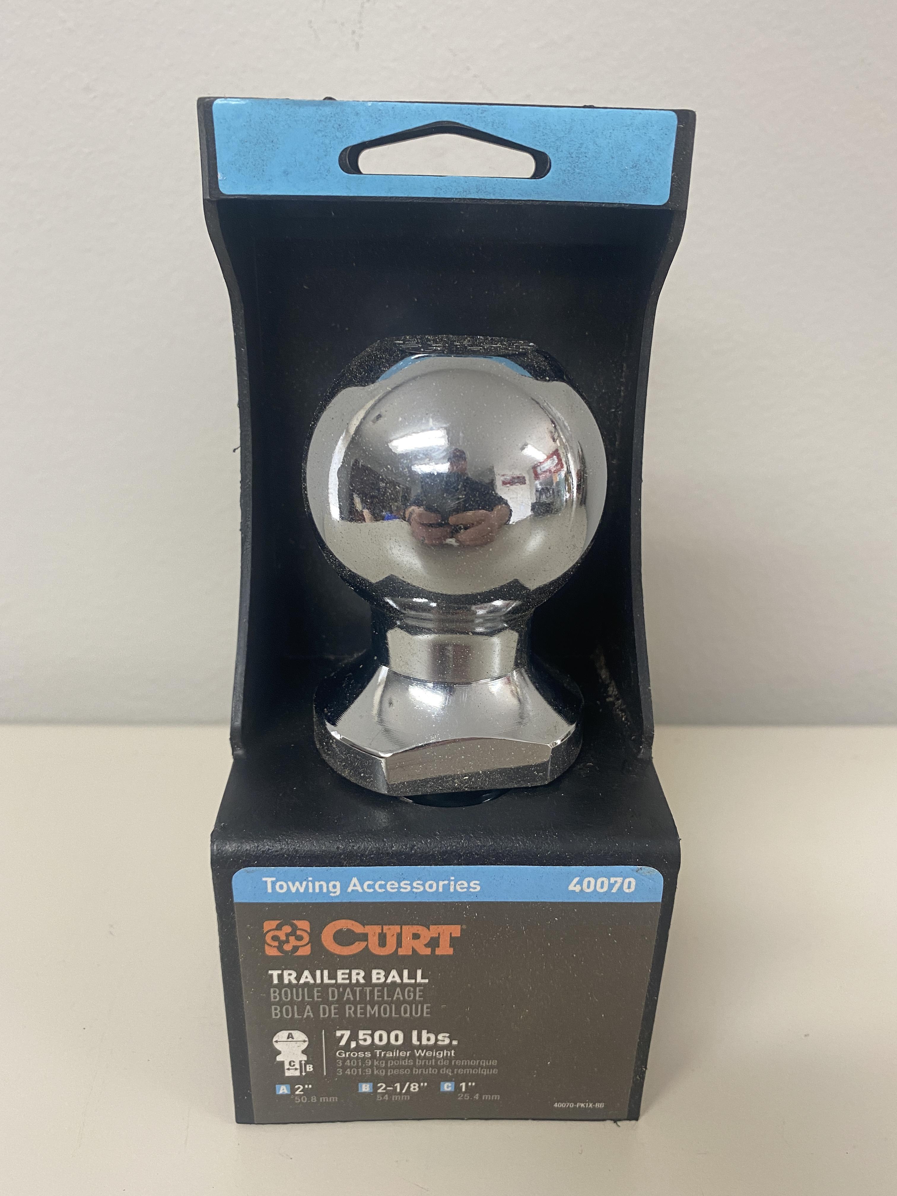 "Curt Trailer Ball - 2"""