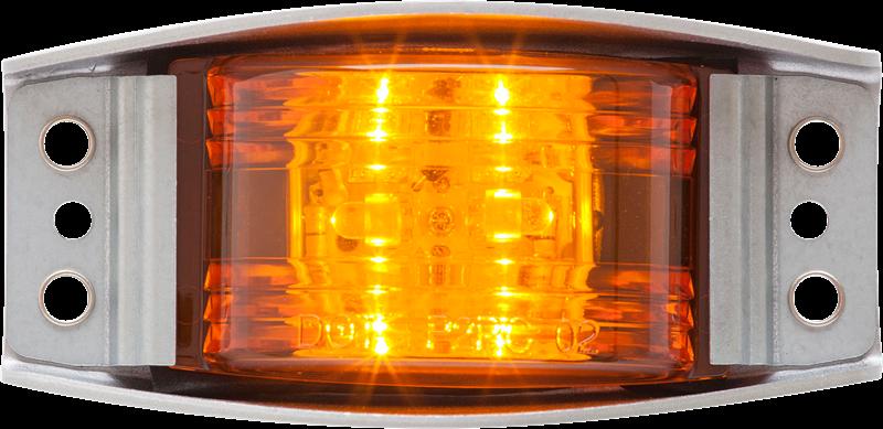 LED C/M ALUM DIE-CAST AMB SELD W/ GASKET WIRE 6D