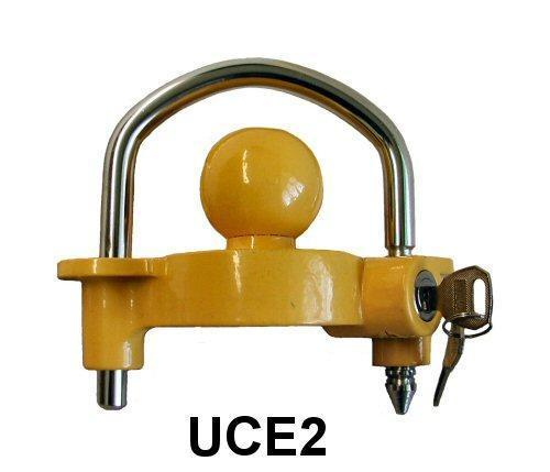 Coupler Trailer Lock 4""