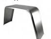 8X23X9 JEEP STYLE SMOOTH STEEL SINGLE AXLE FENDER W/O BACK 16-GA