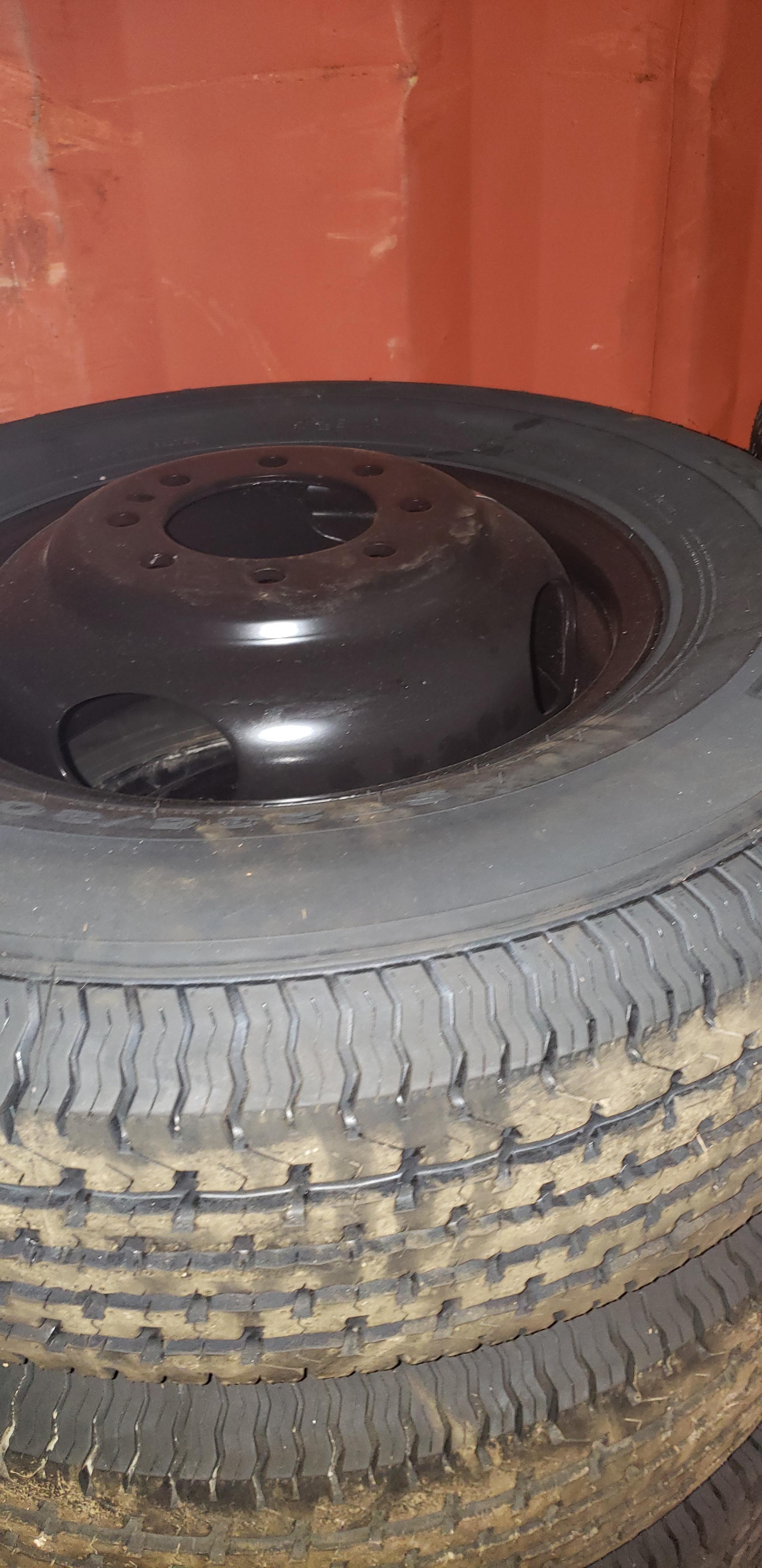 ST235/80R16 Goodride Dually- Black- Rim and Wheel
