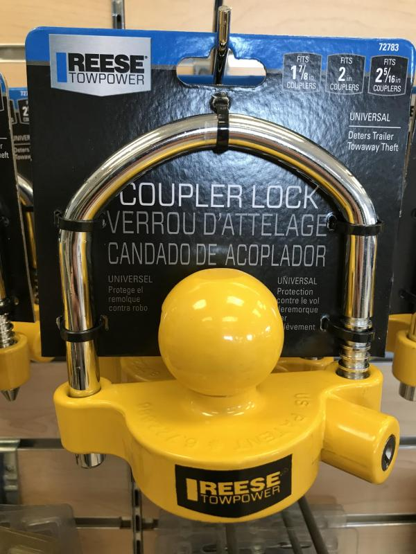 Reese Coupler Lock