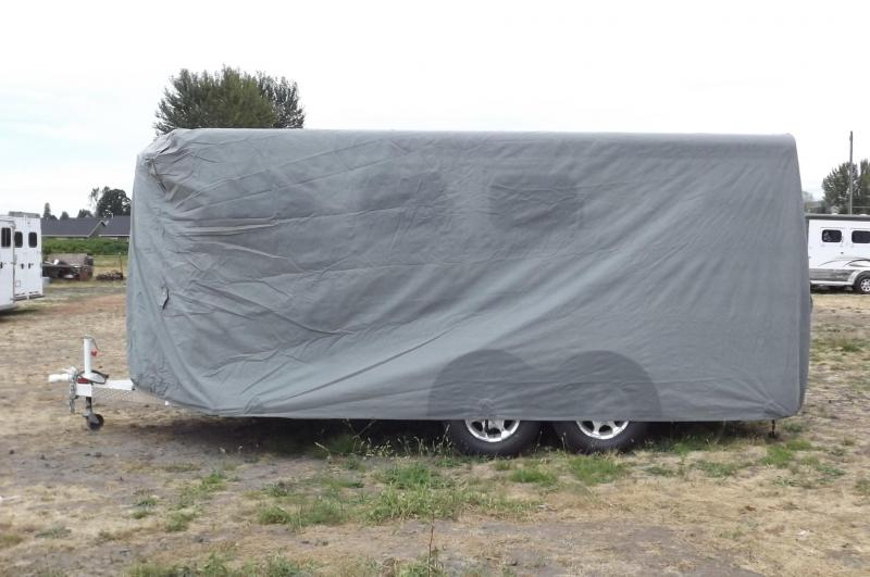 "Aqua-Shed Trailer Cover Fits 16'1"" to 18'1"" (3 Horse Bumper Pull)"