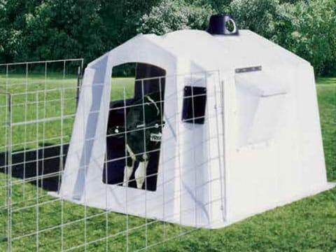 PolyDome Square Big Foot Calf Hut