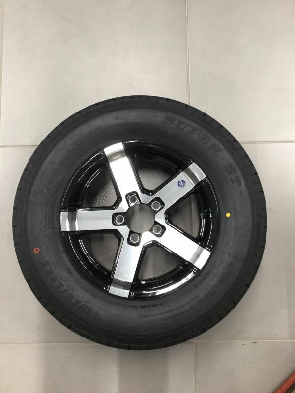 Hispec Series 07 w/ 205 West Lake Tires