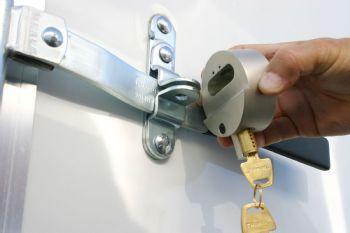 Trimax Hockey Puck Door Lock
