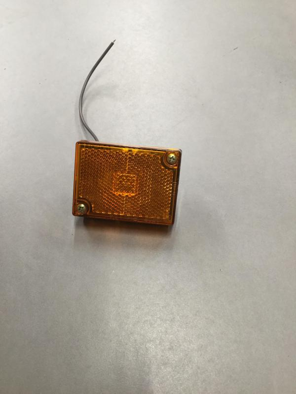 PC rated orange clearance light