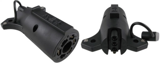 Electrical Connectors - Adapters ADAPTER 7 RV 4 FLAT TULSA OK @ HITCH IT TRAILERS