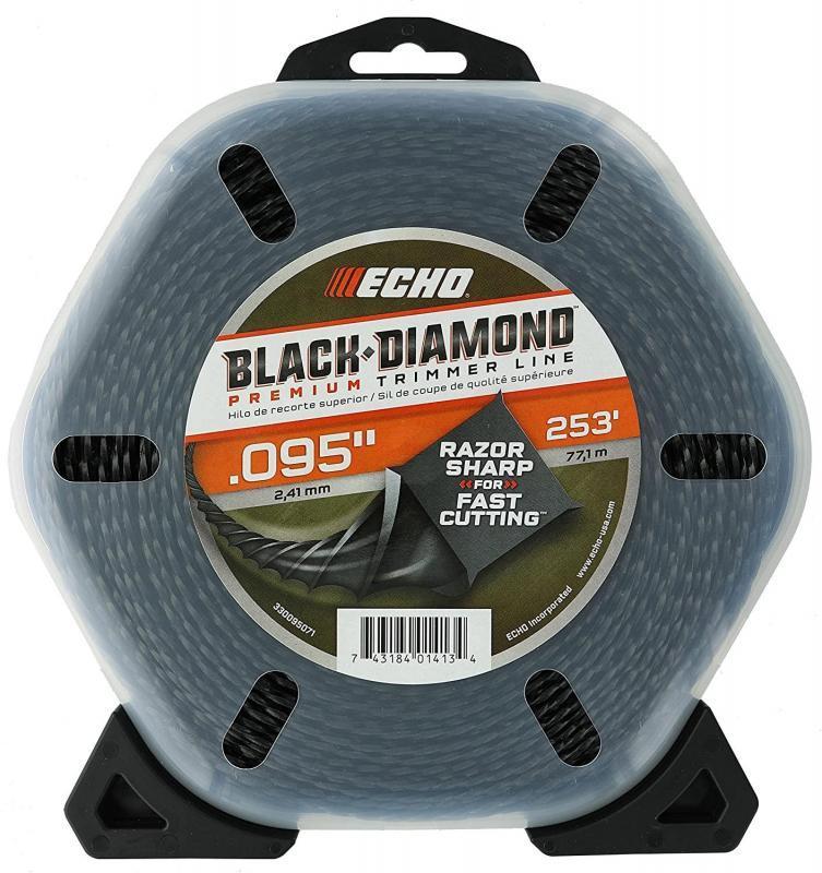 DONUT BLACK DIAMOND TRIMMER LINE .095