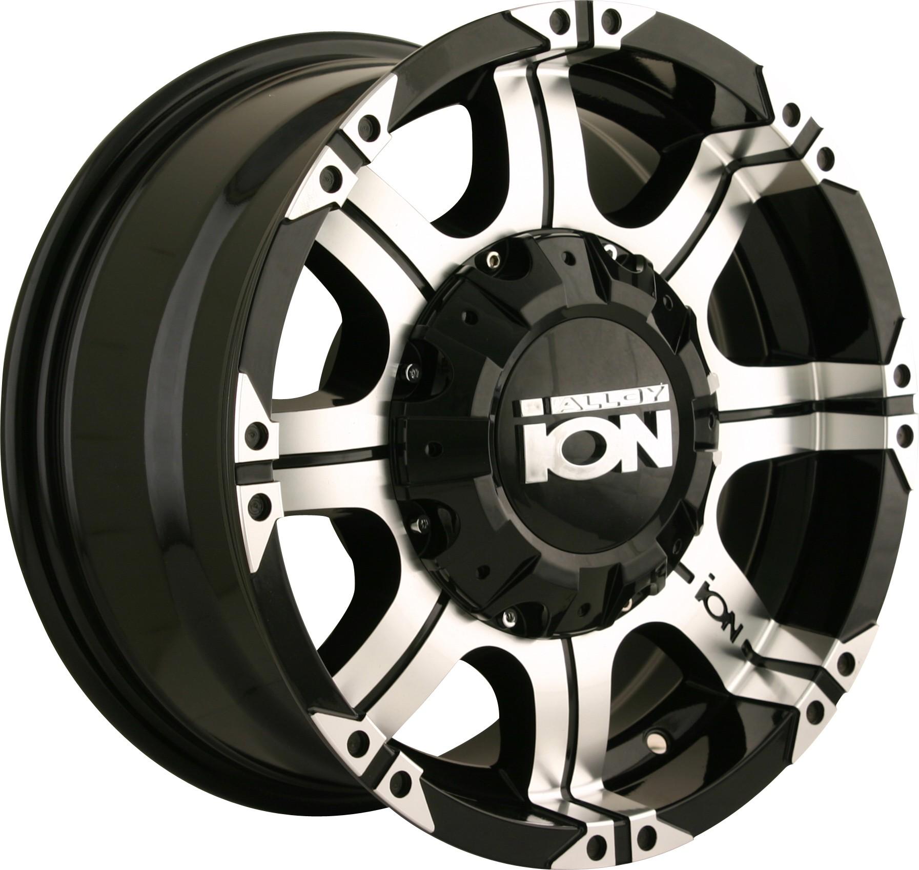 "Ion 187 - 16""x8"" - 8x6.5 - Black"