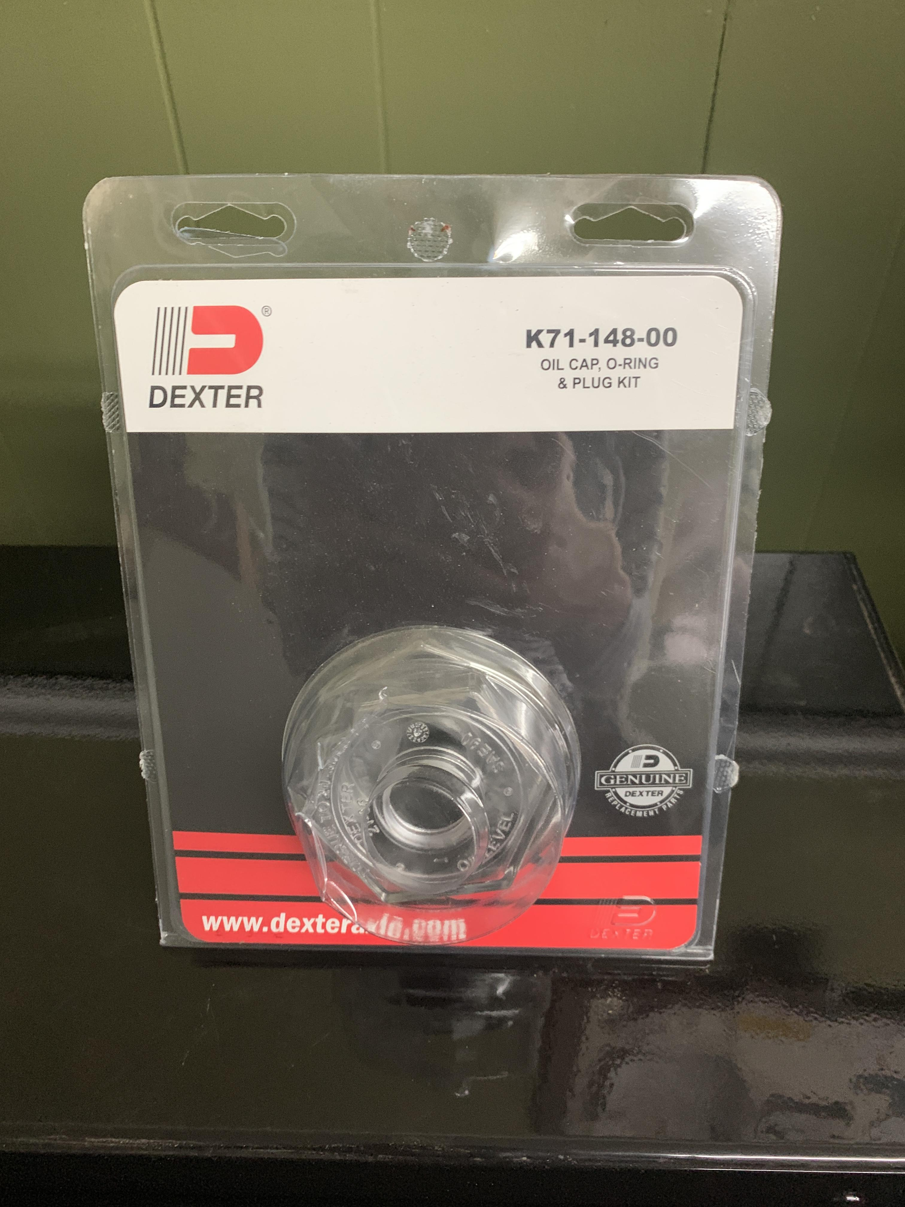 Oil Cap Replacement Kit 9K After '89 And 10K