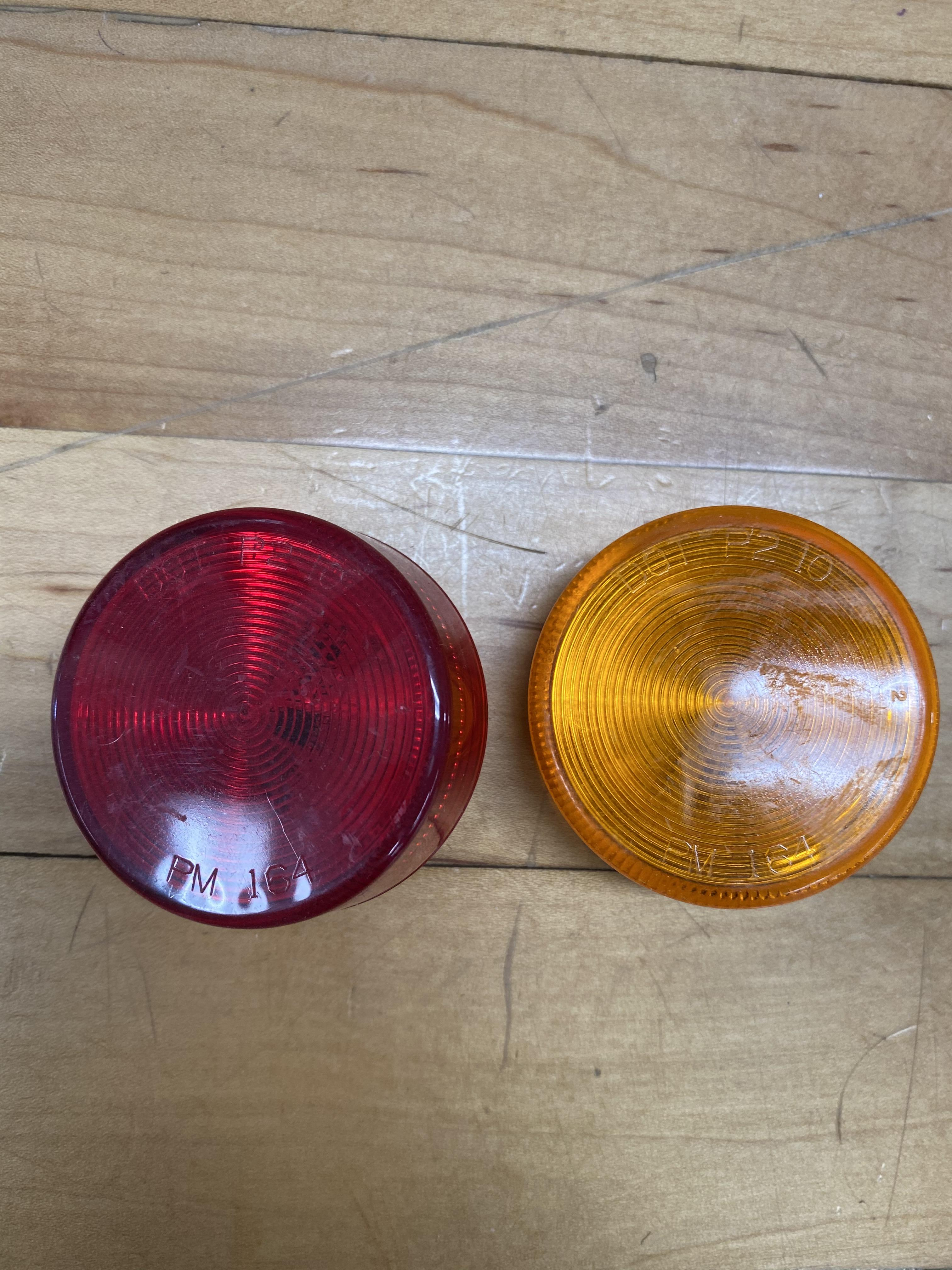 Red and Amber Marker Lights 2