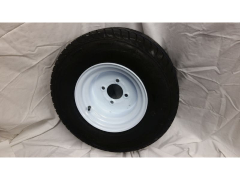 20.5X8.0X10 Trailer Wheel/Radial Tire, 4 Lug