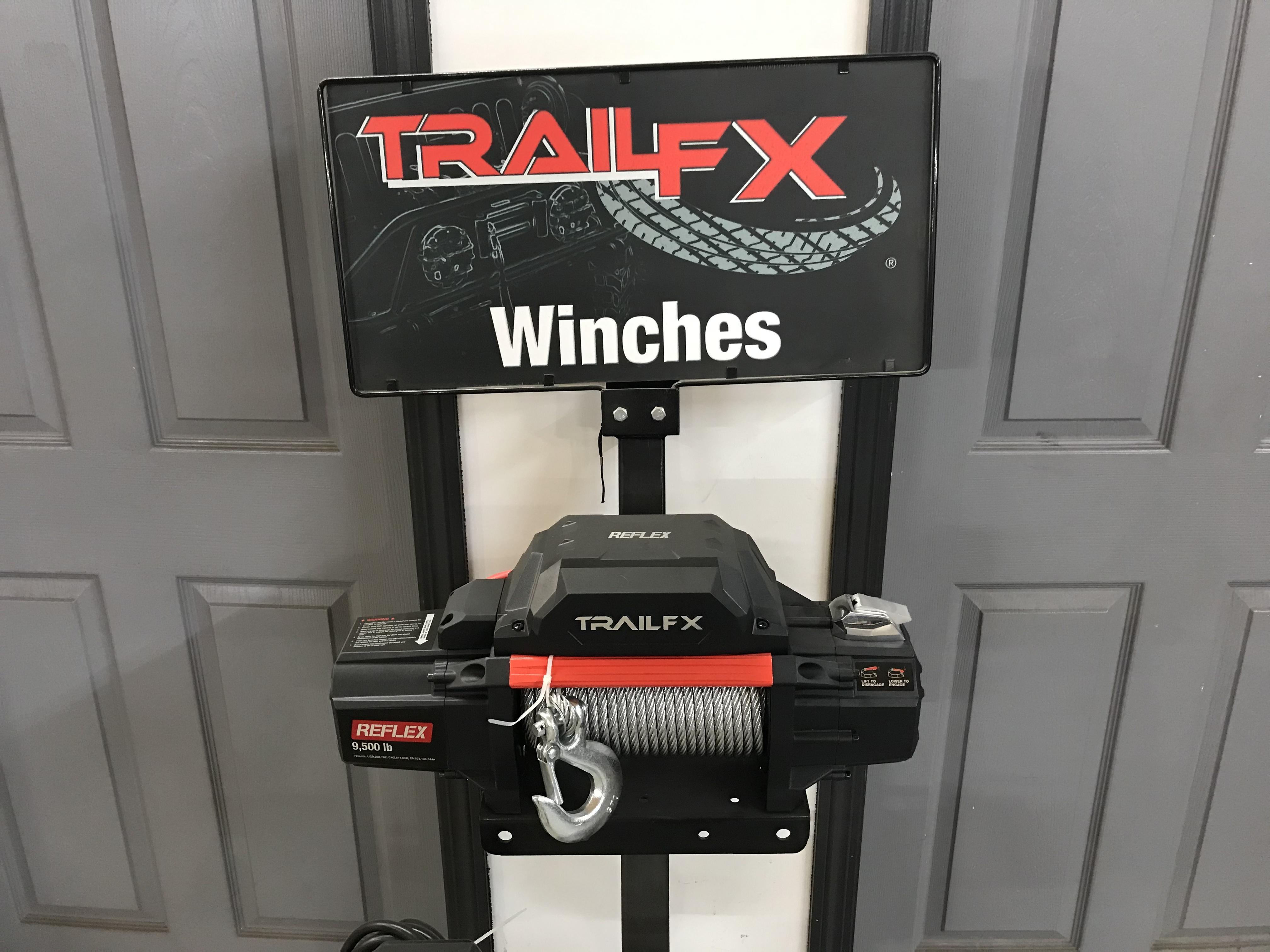 Trail FX 9500# Winch