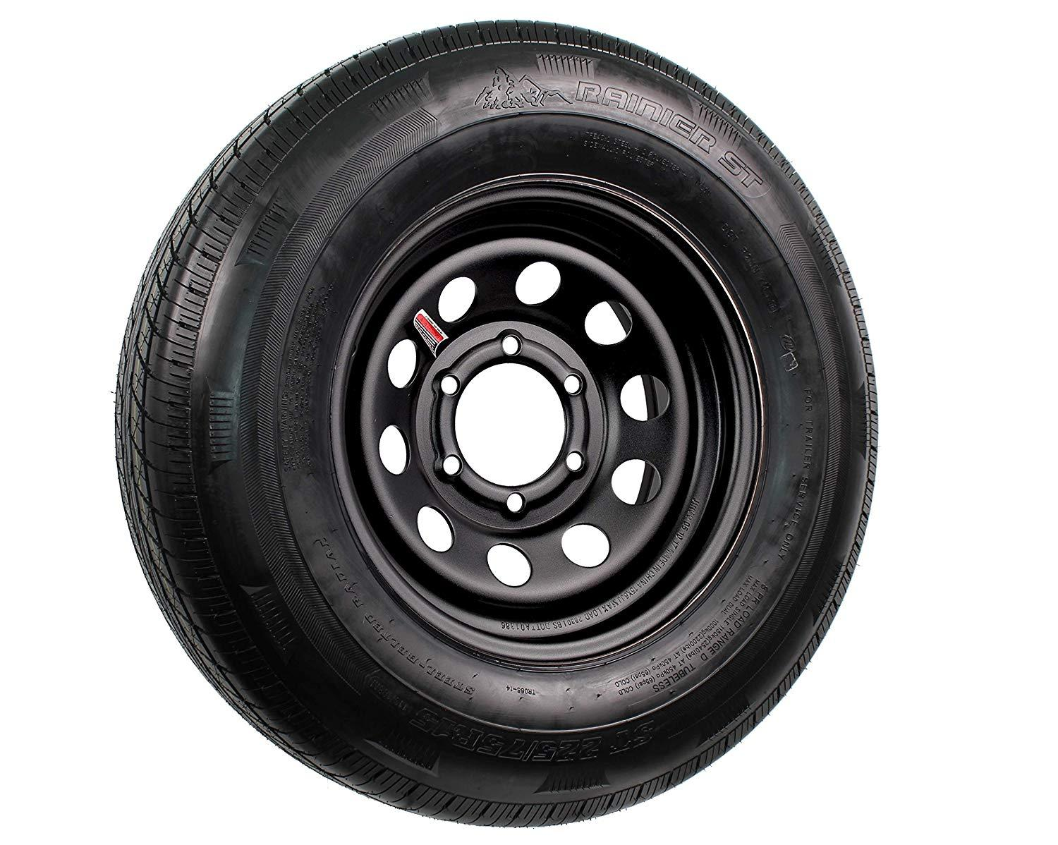 Spare Tire and Rim (225/75R15 - 6 Bolt) - Big Tex Trailers
