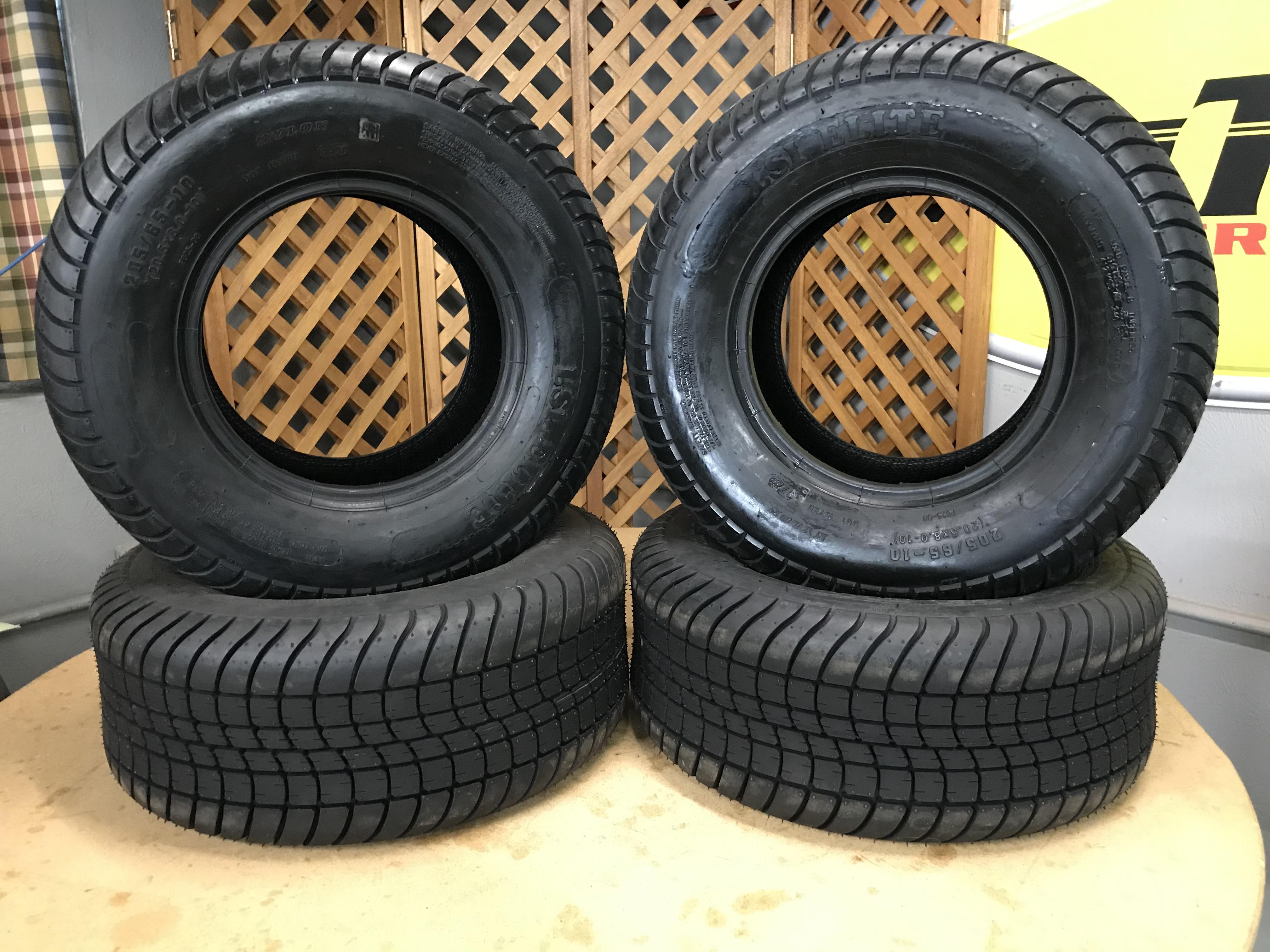 LSI Elite 205/65-10 Tires only Set of 4
