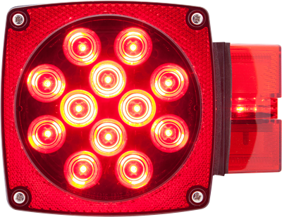 LED over 80 combination tail light passenger side