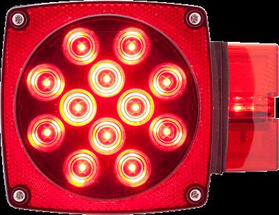 LED over 80 combination tail light passenger side
