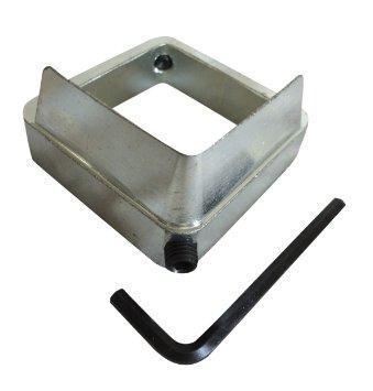 """2"""" hitch tightener. Eliminates rattle and sway in hitches. Compatible with most 2"""" hitches and attach-ments."""