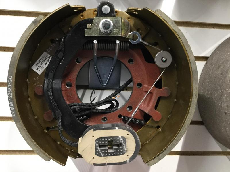 12-1/4x5 left brake assembly