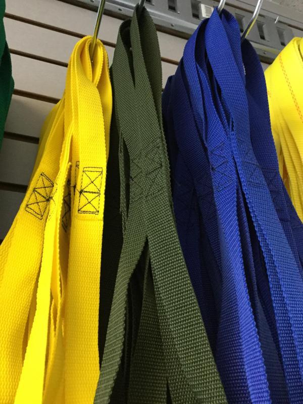 Olive M/C Tie Strap