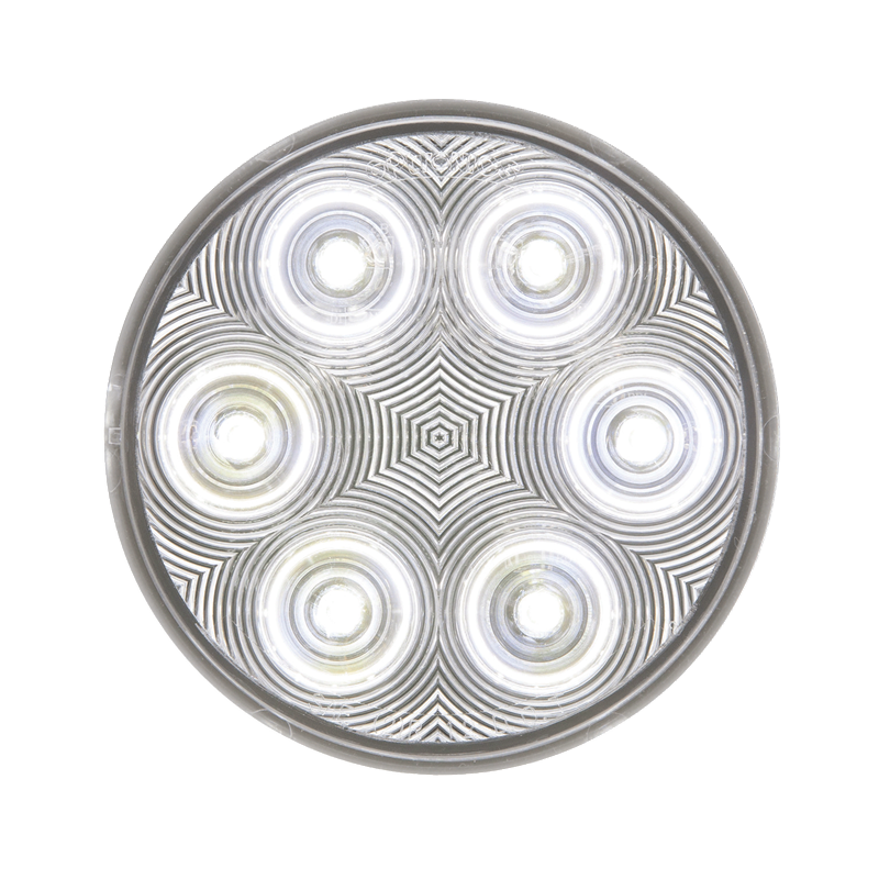 Clear back-up light recess mount standard 2-pin connection