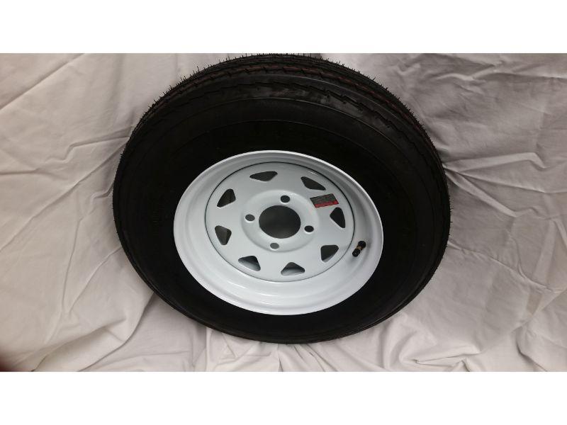 5.30X12 Trailer Wheel/Tire, 4 Lug