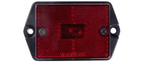 Clearance Marker Light RED SIDE  SURFACE MOUNT