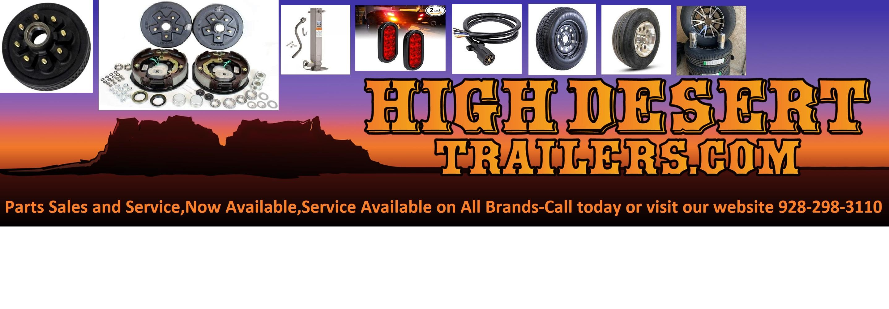 Trailer Parts and Service Now available